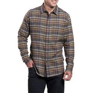 Men's KUHL Fugitive Shirt Large Long Sleeve Flanne